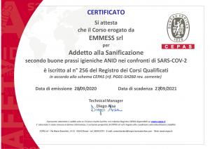 certificatoCEPAS